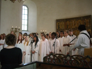 Våren 2009 och Michelles konfirmation 045