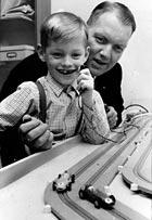 Mikael och pappa ca 1964